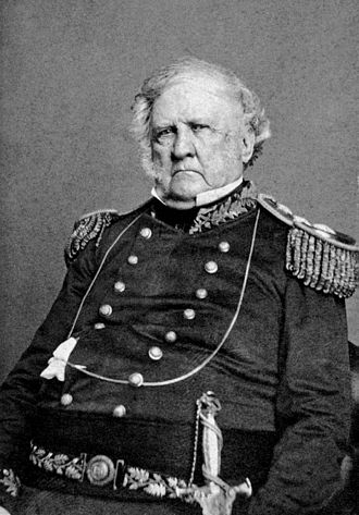 First Battle of Bull Run - Lt. Gen. Winfield Scott, General in Chief, USA