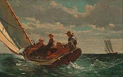 Winslow Homer: Breezing Up