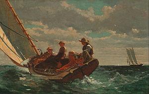 Breezing Up (A Fair Wind) - Image: Winslow Homer Breezing Up (A Fair Wind) Google Art Project
