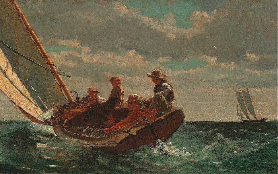 Winslow Homer - Breezing Up (A Fair Wind) - Google Art Project