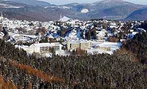Winterberg - Winter view of Winterberg in 2006