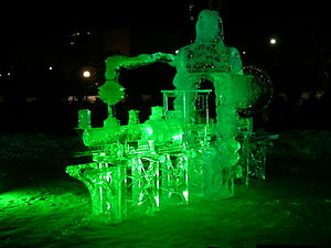 Winterlude - Image: Winterlude Ice Train