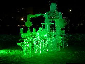 Winterlude - Image: Winterlude Ice Train