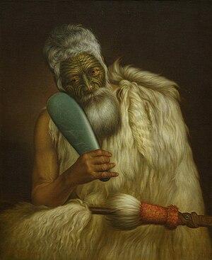 Wiremu Kīngi - Image: Wiremu Kingi, by Gottfried Lindauer