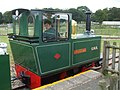 Woburn Safari Park - Miniature train (side view) - geograph.org.uk - 909010.jpg