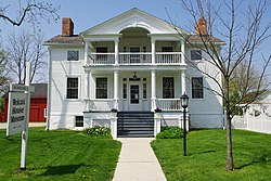 Maumee's Hull–Wolcott House dates from 1827