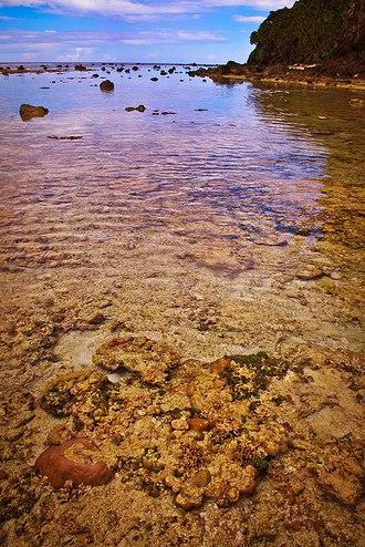 Miangas - Wolo Beach on Miangas