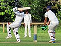 Woodford Green CC v. Hackney Marshes CC at Woodford, East London, England 100.jpg