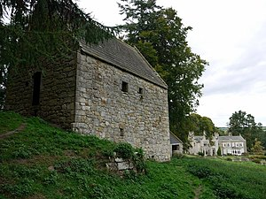 Housebarn - Outside view of Woodhouses Bastle
