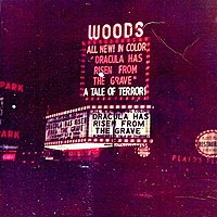 Woods Theatre In 1970