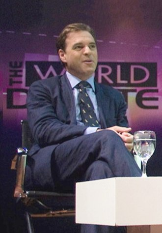 Niall Ferguson - Ferguson at the Special World Debate in 2010