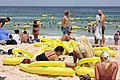 World record attempt at the Havaianas Australia Day Thong Challenge (6764021373).jpg