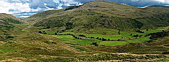 Wrynose Pass - Wrynose Pass, Wrynose Bottom and the River Duddon.