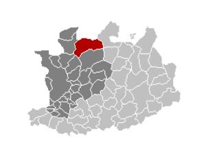 Wuustwezel - Image: Wuustwezel Locatie