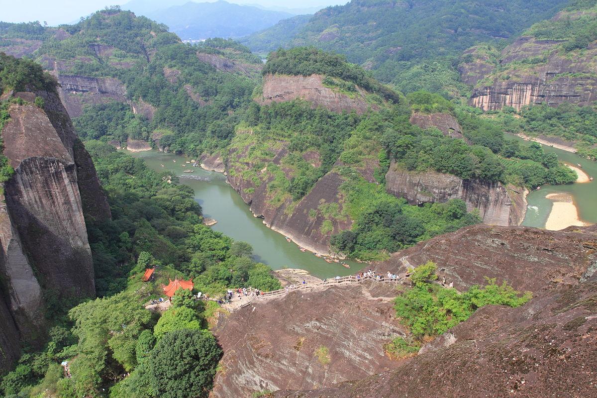 Danxia landform - Wikipedia