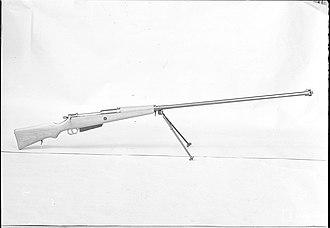 Wz. 35 anti-tank rifle - Karabin przeciwpancerny wzór 35