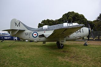 Australian National Aviation Museum - RAN Fairey Gannet