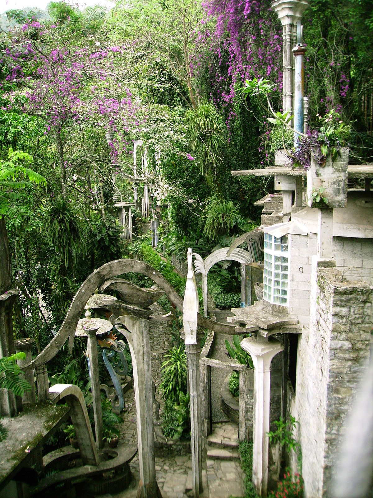 Las pozas wikipedia la enciclopedia libre for Jardin surrealista xilitla