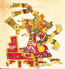 Diosa Azteca Del Amor