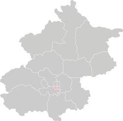 Location of Xuanwu