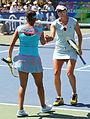 Yaroslava Shvedova and Sania Mirza (5996049956).jpg