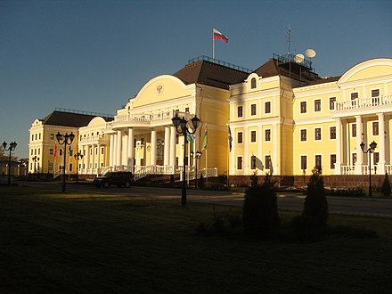 Residence of the presidential envoy of the Ural Federal District Yekaterinburg Dobrolyubova street 05.JPG