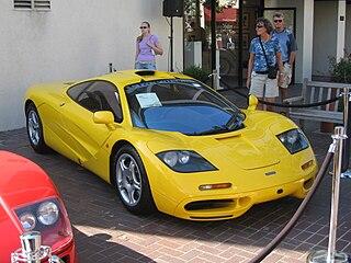 McLaren F1 sports car