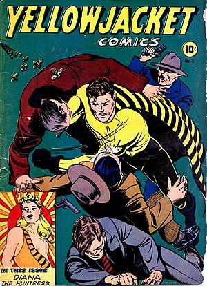 Yellowjacket (Charlton Comics) - Image: Yellowjacketcomics 3