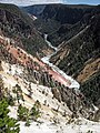 Yellowstone River (Grand Canyon of the Yellowstone, Wyoming, USA) 33 (46773370685).jpg
