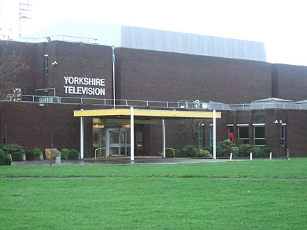 The Leeds Studios, used by ITV Yorkshire. Each ITV region originally had its own studios, however the rise of publisher-broadcasters like Carlton Television and the takeover of regions caused several studios to be closed. YorkshireTVstudiosLeedsJan07.jpg