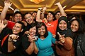 Young NTUC Youth Chapter members taking part in Uth! Campus 2010, Singapore - 20071107.jpg