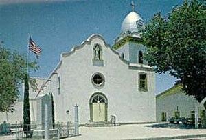 Ysleta, El Paso, Texas - Mission de Corpus Christi ade la Ysleta