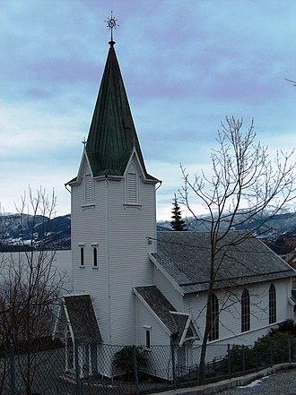 Schak Bull - Ytre Arna Church in Ytre Arna.