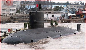 Type 039A submarine - Chinese Type 039A diesel-electric submarine, NATO reporting name: Yuan Class.