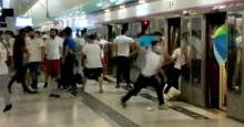 Yuen Long Station White Tee people attack citizen in platform 20190721.png