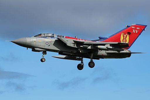 ZA461 XV Squadron 100th Anniversary Scheme (20442647891)