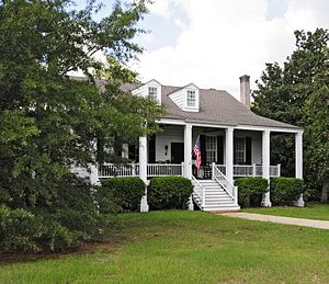 National Register of Historic Places listings in Kershaw County, South Carolina - Image: Zachariah Cantey House v 1