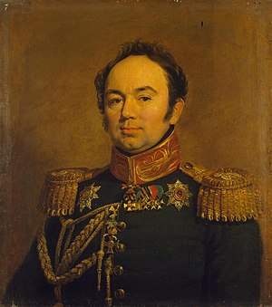 Arseny Zakrevsky - Portrait by George Dawe in the Military Gallery