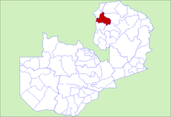 Zambia Kawambwa District.png