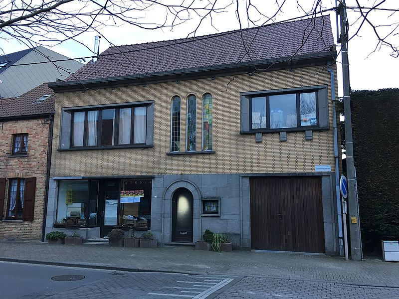 Woning, onderdeel van de lijst van onroerend erfgoed te Oudenburg