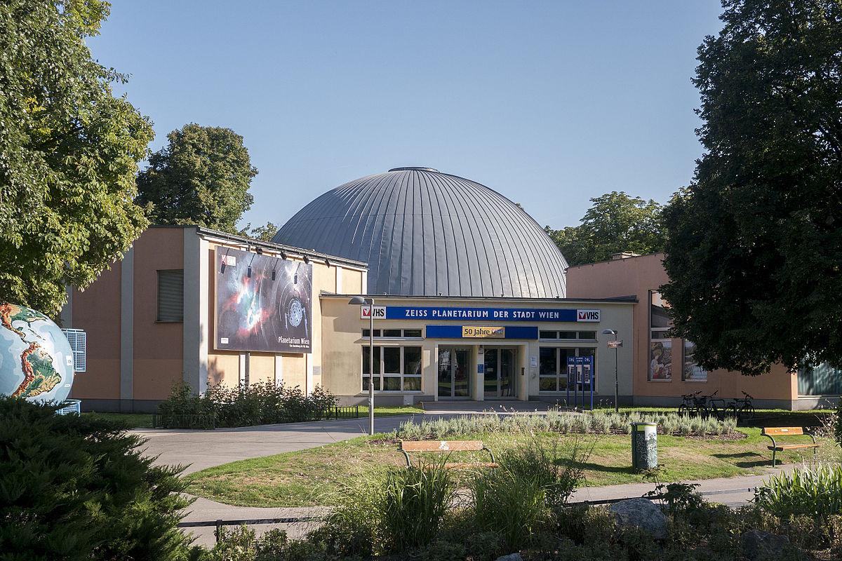 File Zeiss Planetarium Der Stadt Wien Jpg Wikimedia Commons