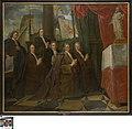Zes leden van het Brugse schippersgilde voor hun patroonheilige Clemens, 1706, Groeningemuseum, 0040950000.jpg