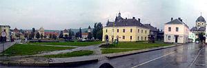 Центральна площа міста— Вічева