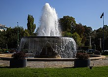 Zodiac Fountain, Bucharest.JPG