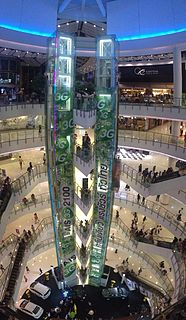 CentralWorld shopping mall in Thailand