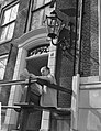 Zonnen in Amsterdam Wim Sonneveld in de zon, Bestanddeelnr 912-2383.jpg