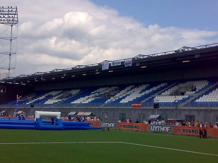 The Fred Patrick Stand in the new stadium Zwolle IJsseldeltastadion.jpg