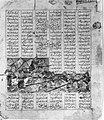 """""""Iranian and Turanian Armies in Combat"""", Folio from a Shahnama (Book of Kings) MET 108663.jpg"""
