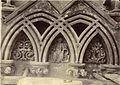 """Last Judgment."" Niche Sculpture, Wells Cathedral West Façade (3610766451).jpg"