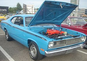 Plymouth Duster - 1972 Plymouth Duster